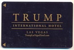 Trump International Hotel, Las Vegas,  Used Magnetic Hotel Room Key Card # Trump-18 - Hotelkarten