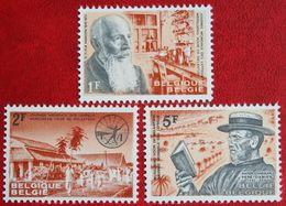Journée Mondiale Des Lépreux Lepra OBP 1278-1280 (Mi 1338-1340) 1964 POSTFRIS / MNH ** BELGIE / BELGIEN / BELGIUM - Unused Stamps