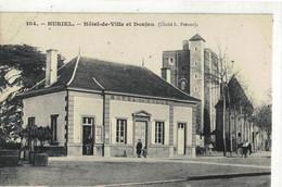 HURIEL   L'Hotel De Ville  N° 104 - Andere Gemeenten