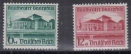 DR  673-674 Postfrisch **, Gautheater Saarpfalz 1938 - Neufs