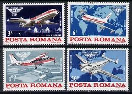 7097AVIATION    MAPS  LOCKHEED   BRITTEN NORMAN ISLANDER   ROMBAC 111    BOEING 707 - Aerei