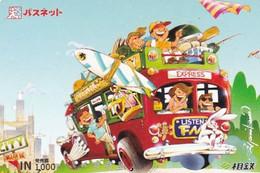 JAPAN - Cartoon, Prepaid Card Y1000, Used - Comics