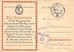Feldpostkarte II.WK 1942 Infanterie - Weltkrieg 1939-45