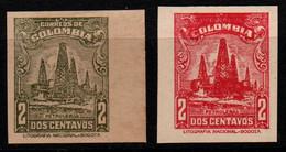 A712A -KOLUMBIEN - 1944. MNH - MI#: 459 - COLOR PROOF + IMPERFORATE-  PETROLEUM - Colombia