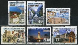 Turkey 2016 - Mi. 4176-81 O, Tourism-Cities Of Turkey - Used Stamps