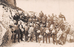 Carte-Photo:  Groupe D'Hommes Vers 1900 - Suisse Schweiz - - Suisse