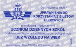 ABBONAMENTO BUS POLONIA (PY3106 - Season Ticket