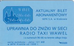 ABBONAMENTO BUS POLONIA (PY3115 - Season Ticket