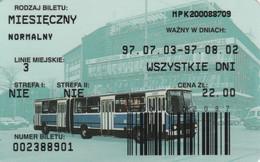 ABBONAMENTO BUS POLONIA (PY3117 - Season Ticket