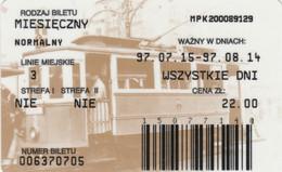 ABBONAMENTO BUS POLONIA (PY3118 - Season Ticket