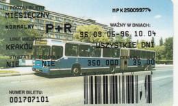 ABBONAMENTO BUS POLONIA (PY3119 - Season Ticket