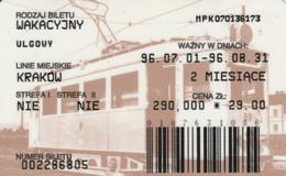 ABBONAMENTO BUS POLONIA (PY3121 - Season Ticket