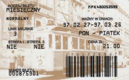 ABBONAMENTO BUS POLONIA (PY3122 - Season Ticket