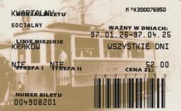 ABBONAMENTO BUS POLONIA (PY3124 - Season Ticket
