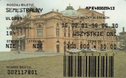 ABBONAMENTO BUS POLONIA (PY3125 - Season Ticket