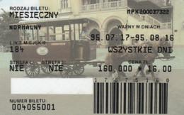 ABBONAMENTO BUS POLONIA (PY3126 - Season Ticket
