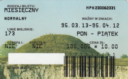 ABBONAMENTO BUS POLONIA (PY3127 - Season Ticket