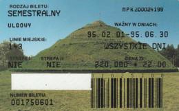 ABBONAMENTO BUS POLONIA (PY3128 - Season Ticket
