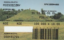 ABBONAMENTO BUS POLONIA (PY3134 - Season Ticket