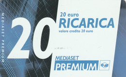 RICARICA TV MEDIASET PREMIUM 30-4-11 20 (PY3419 - Other Collections