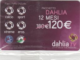 SCHEDA TV DAHLIA -NON ATTIVA (PY3434 - Other Collections