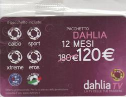 SCHEDA TV DAHLIA -NON ATTIVA (PY3435 - Other Collections