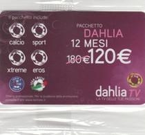 SCHEDA TV DAHLIA -NON ATTIVA (PY3436 - Other Collections