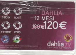 SCHEDA TV DAHLIA -NON ATTIVA (PY3437 - Other Collections