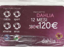 SCHEDA TV DAHLIA -NON ATTIVA (PY3438 - Other Collections