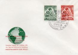 Berlin  Ersttagsbrief Mi. 80/81 Tag Der Briefmarke 1951 - FDC: Covers