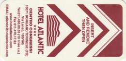 SCHEDA CHIAVE CAMERA ALBERGO (PY3615 - Hotelkarten