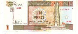 Cuba  FX46  1 Peso 2007 Unc - Cuba