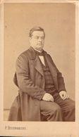 CDV, Chalon Sur Saone, Mr Francois Chabas President Du Tribunal De Commerce,  Circa 1880       (bon Etat) - Alte (vor 1900)