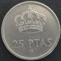 ESPAGNE - 25 Pesetas - 1982 - [ 5] 1949-… : Kingdom