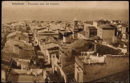 BALESTRATE (PALERMO) - PANORAMA VISTO DAL CALVARIO 1937 - Palermo