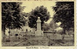 Mesnil Saint Blaise (houyet)  Le Monument Aux Morts - Houyet