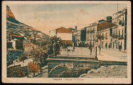 TROINA (ENNA) PIAZZA FR. CRISPI 1942 - Enna