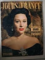 JOURS DE FRANCE N° 17 Du 3 Mars 1955 – Martine Carol / Michele Morgan / Guerre D'Indochine - General Issues