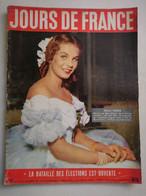 JOURS DE FRANCE N° 51 Du 5 Novembre 1955 – Odile Rodin / Sacha Guitry / Françoise Sagan - General Issues