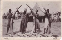 IVORY TRADE, UPPER NILE. EGYPTE CPA, EDITEUR G N MORHIG. NON CIRCULEE -LILHU - Sonstige