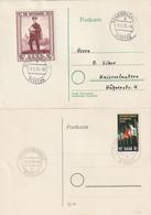 Saarland / 1955 / Mi. 359 Und 361 FDC (B082) - FDC