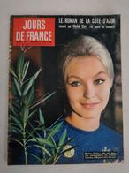 JOURS DE FRANCE N° 249 Du 22 Août 1959 – Marina Vlady / Le Roman De La Côte D'Azur  à Cannes / Yves Saint-Laurent - General Issues