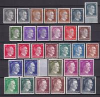 Deutsches Reich - 1941/44 - Michel Nr. 781/786 + 789/798 + 826/827 - Postfrisch/Ungebr. - Deutschland