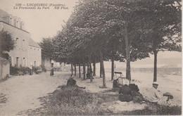29 - LOCQUIREC - LA PROMENADE DU PORT - Locquirec
