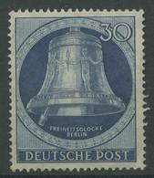 Berlin 1951 Freiheitsglocke Klöppel Links 78 Postfrisch, Mängel (R19255) - Ungebraucht