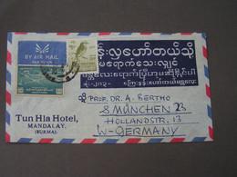 Burma , Old Cv. - Myanmar (Burma 1948-...)