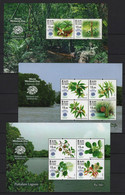 Sri Lanka (2020) - 3 Blocks -   /  Flowers - Blooms - Fleurs - Blumen - Fiori - Flores - Plants - Biodiversity - Flora