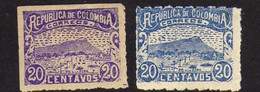 Colombie (1902-1903 )-  Colline De La Popa - Neufs* - Colombia