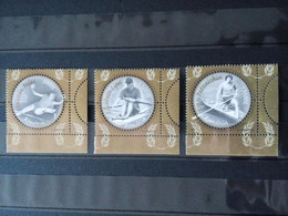 2004 Romania Olympic Games, 3 Stamps MNH - Estate 2004: Atene