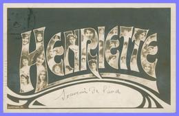 Prénom - HENRIETTE - Multitudes De Portraits De Femmes Dans Les Lettres - TONGIMED'S PAPER - Firstnames